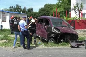 Accident cu 9 victime la granița dintre Neamț și Iași. Printre răniți sunt și patru copii