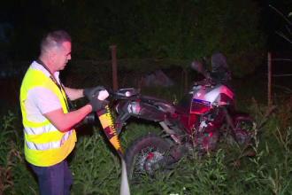 """Motociclist lovit de un șofer băut. Martor: """"L-a aruncat la 30 de metri, a zburat în aer"""