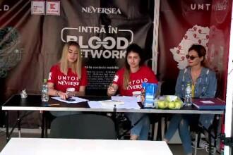 """Număr record de persoane care au donat sânge la caravana umanitară """"Untold - Neversea"""""""