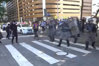 Proteste de amploare în Brazilia. Scutierii au intervenit și au arestat mai multe persoane