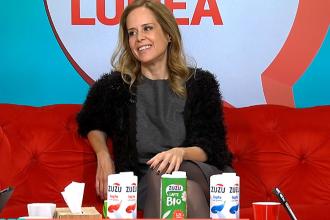 Beneficiile laptelui pentru organism. Mihaela Bilic: