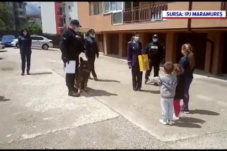 Misiune neobișnuită pentru polițiștii din Maramureș. Ce surprize inedite le-au pregătit copiilor de 1 iunie