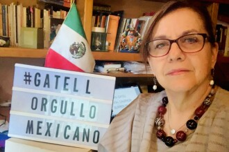 FOTO. O senatoare din Mexic a rămas topless în timpul unei conferințe online cu membri de partid