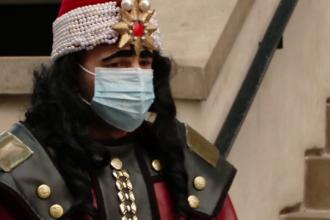 Vlad Ţepeş și-a pus mască și a deschis porţile Castelului de la Bran după trei luni