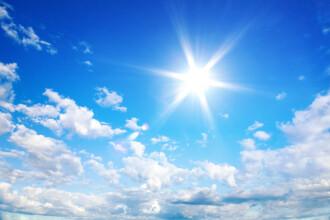 Vremea azi, 6 iunie. Unde vor fi 32 de grade și unde apar câteva reprize de ploaie
