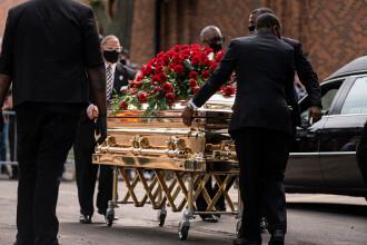 A doua ceremonie funerară în memoria lui George Floyd. Când va fi înmormântat