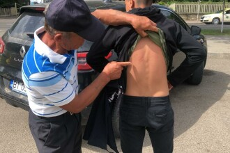 Copil sechestrat şi ameninţat cu securea de doi bărbaţi. Tatăl a sunat la 112, iar ce a urmat este incredibil