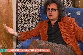 """""""Vierme"""", viața după Animal X. Cum arată și cu ce se ocupă acum artistul"""