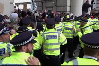 Demonstraţiile împotriva rasismului şi violenţelor poliţiei se extind în lume