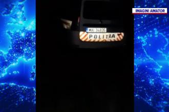Imagini revoltătoare în județul Vaslui, unde un polițist a fost filmat în timp ce dormea. Ce făcea colegul lui