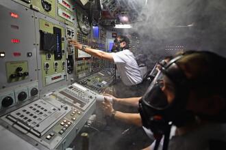 Autoritățile franceze, alertate de un incendiu la bordul unui submarin nuclear de atac