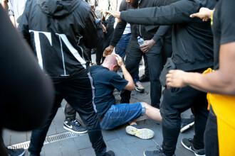 Protestele anti-rasism au degenerat din nou în Europa. Violențe la Londra și la Paris
