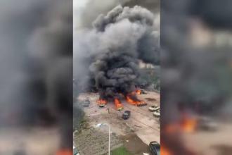 Explozie devastatoare în China. Cel puțin 10 oameni au murit