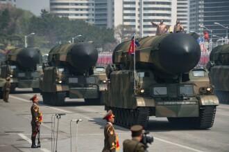 Coreea de Nord a susţinut o paradă militară. Ce a aniversat regimul lui Kim Jong-Un