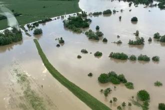 Cele mai grave inundații din ultimii 200 de ani. ANM anunță Cod roșu în mai multe județe