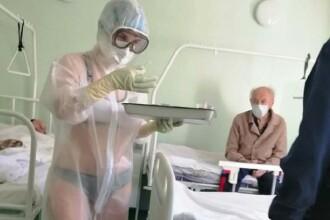 Ce s-a întâmplat cu asistenta care purta costum de protecție transparent. Legături cu temutul FSB și Vladimir Putin