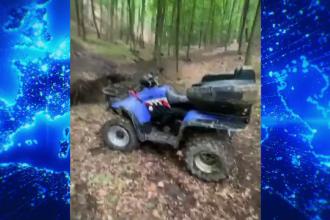 Au plecat la plimbare cu ATV-ul, dar au ajuns la un pas de moarte