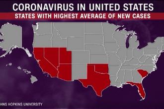 Statele Unite s-au grăbit cu ridicarea restricțiilor. Vârsta medie a pacienților din Florida: 37 de ani