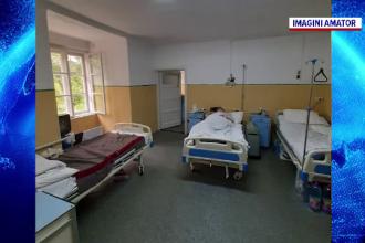Saloanele spitalelor din țară, tot mai aglomerate. Pacienții care suferă de Covid-19 se plâng de mizerie