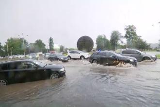 Vremea, 23 iunie. Ploi torențiale, grindină și furtuni în toată țara până la sfârșitul săptămânii