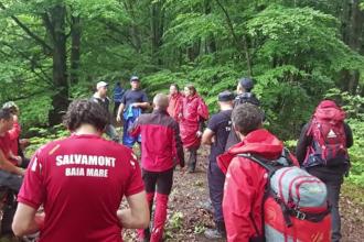 Bărbatul din Maramureș care s-a rătăcit în pădure a fost găsit de autorități