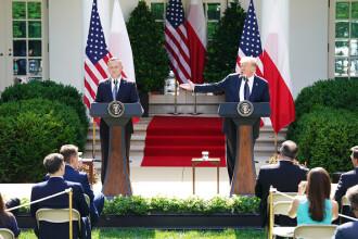 """Trump îl """"supără"""" pe Putin. SUA vor să mute trupe în Polonia"""