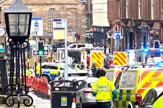 Incident armat în Glasgow, soldat cu 6 răniți. Atacatorul a fost împușcat mortal