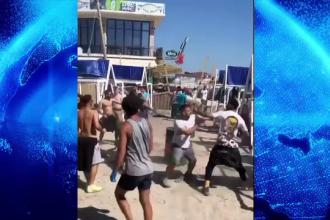 VIDEO. Bătaie generală în Vama Veche. Mai mulți tineri şi-au împărţit pumni şi picioare pe plajă