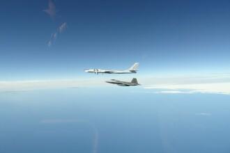 VIDEO. Aviaţia militară americană a interceptat 4 avioane de recunoaştere ruseşti lângă Alaska