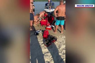 O fetiță de un an și jumătate din Galați care a căzut în Dunăre a fost salvată în ultimul moment de un ofițer