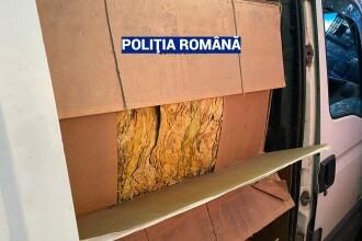 Captură record de tutun vândut ilegal, în urma unor percheziții în București și mai multe județe