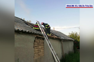 Bătrână arsă de vie în Tulcea. De la ce a pornit incendiul