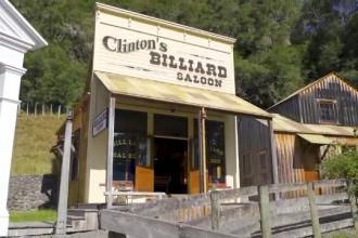 Un sat ca în Vestul Sălbatic, scos la vânzare în Noua Zeelandă