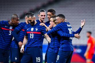 EURO 2020. Franța este marea favorită pentru câștigarea trofeului. Ce șanse au Belgia, Spania și Germania