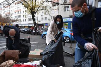 """S-a început ridicarea gunoaielor din Sectorul 1. Clotilde Armand: """"Am plătit direct sortatorii"""""""