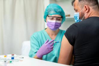 Campania de vaccinare, în regres. Cel mai scăzut număr de persoane vaccinate din ultimele 7 luni