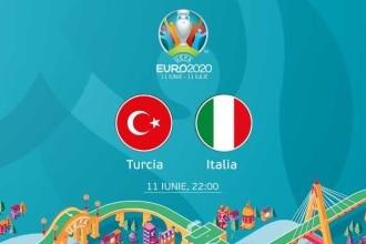 Turcia - Italia, la EURO 2020. Avancronica meciului care deschide competiția