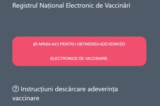 Cum se descarcă adeverinţa de vaccinare în format electronic, necesară la meciurile EURO 2020