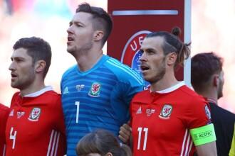 Țara Galilor - Elveția, 1-1. Final dramatic în al doilea meci al grupei A