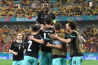 Austria - Macedonia de Nord, 3-1 pe Arena Națională. Spectacol în primul meci găzduit de România la un turneu final