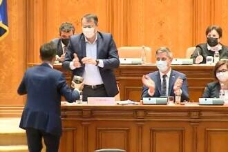 Moţiunea simplă a PSD împotriva ministrului Cristian Ghinea a fost respinsă de deputați