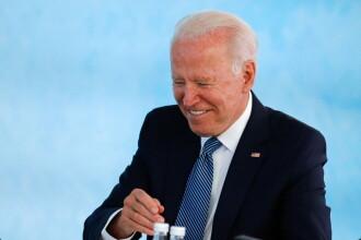 """VIDEO. Gafa lui Joe Biden care a stârnit amuzamentul liderilor G7. """"A, a făcut-o?"""""""