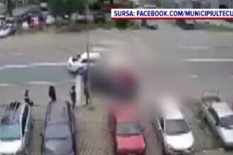 Doi soți au fost loviți din plin pe o trecere de pietoni din Tecuci