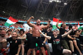 EURO 2020. UEFA a sancţionat Ungaria pentru comportamentul discriminatoriu al fanilor săi la meciurile de la Budapesta