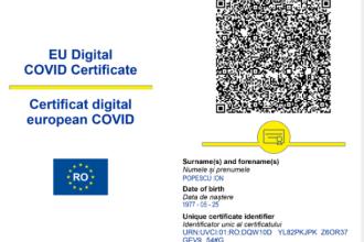 Certificatul digital european COVID-19 intră oficial în vigoare în Uniunea Europeană începând de joi