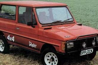 Dacia Duster, o masina veche de un sfert de secol!