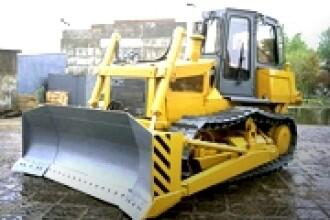 Furturi de mare tonaj: buldozere din Occident vandute in Romania