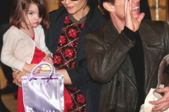 Suri Cruise, cel mai in voga copil de la Hollywood!