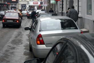 Rosu, alb si albastru pentru parcarile publice din Capitala!