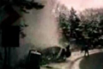 Pericol la Raliul Brasovului! Un pilot a pierdut masina de sub control